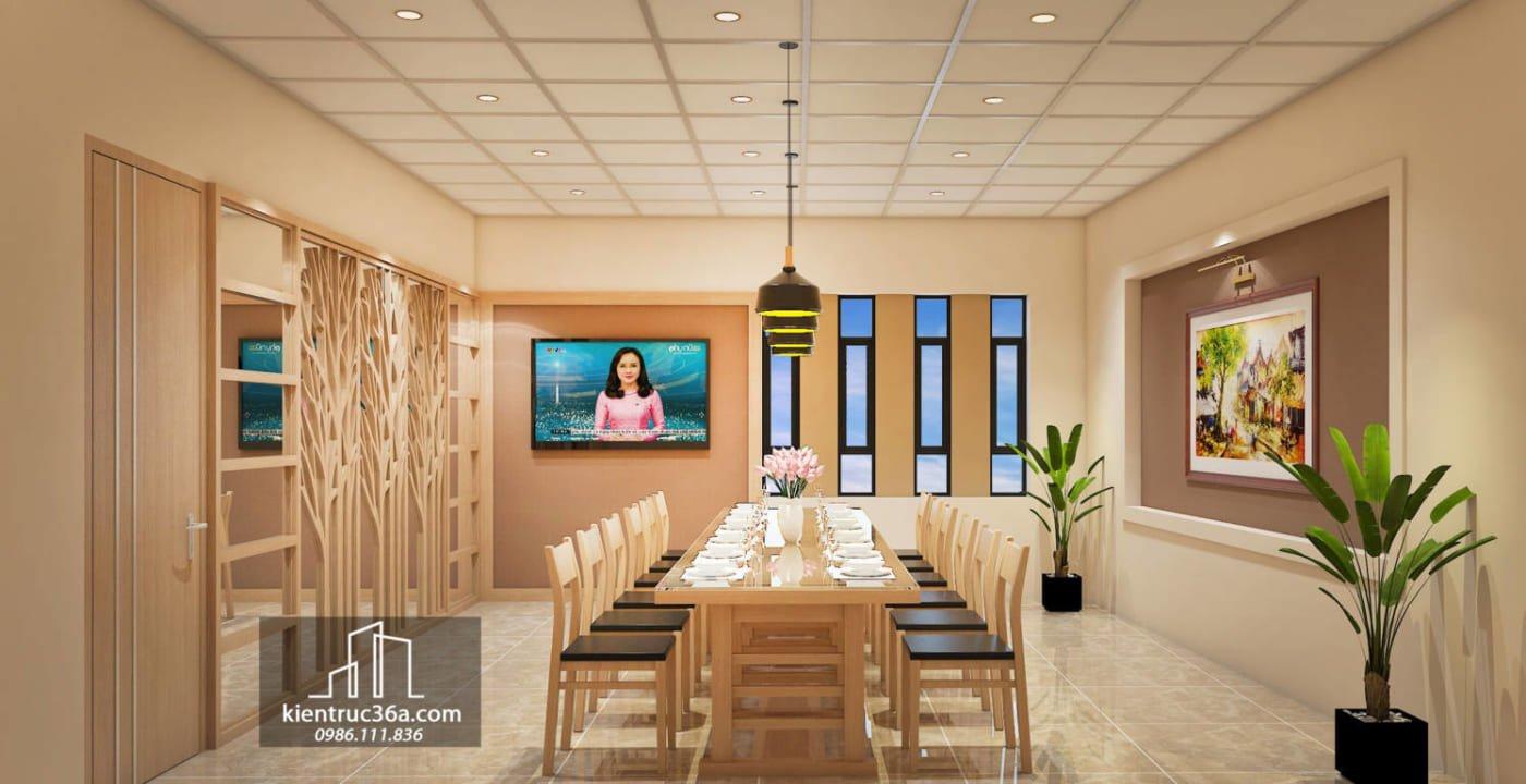 Thiết kế nhà hàng Thanh Hóa