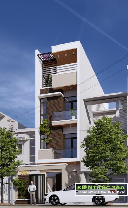 Thiết kế nhà phố Thanh Hóa